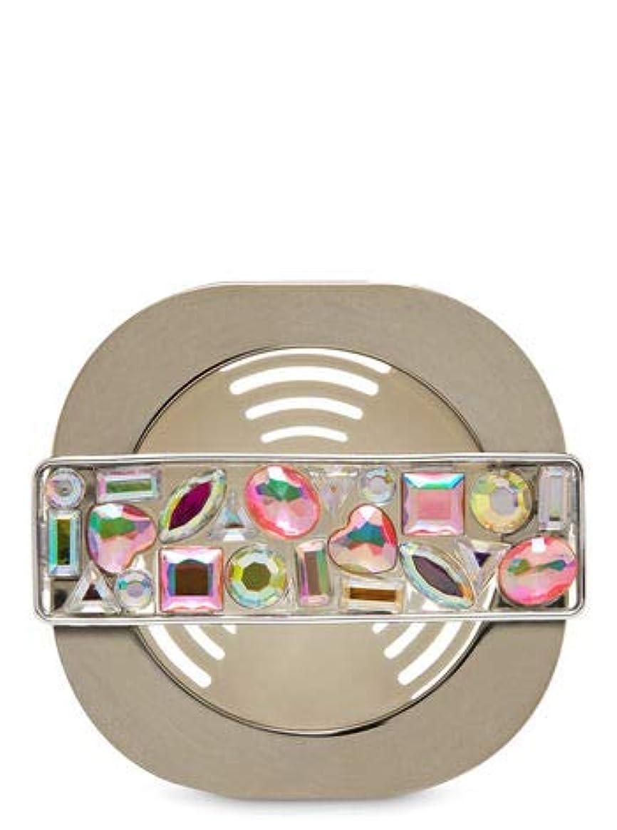 入る合併スチュワード【Bath&Body Works/バス&ボディワークス】 車用芳香剤 セントポータブル ホルダー (本体ケースのみ) モザイクジェム Scentportable Holder Mosaic Gem Vent Clip [並行輸入品]