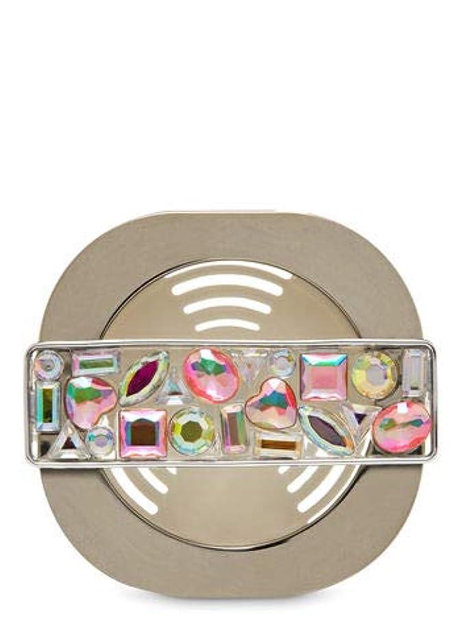 師匠放映適性【Bath&Body Works/バス&ボディワークス】 車用芳香剤 セントポータブル ホルダー (本体ケースのみ) モザイクジェム Scentportable Holder Mosaic Gem Vent Clip [並行輸入品]