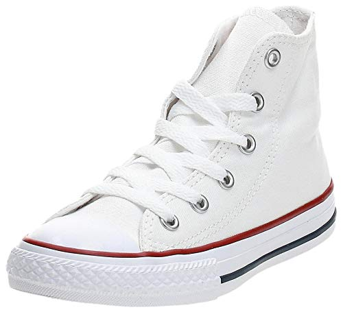 Converse Unisex-Kinder Chuck Taylor All Star Sneaker, Weiß White 3j253c, 31 EU