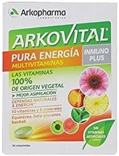 Arkopharma Arkovital Pura Energía Multivitaminas Inmuno Plus Comprimidos. 30Uds