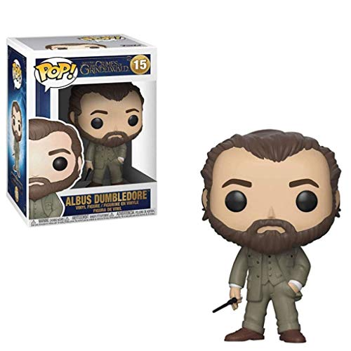 LTY YHP Movies: Fantastic Beasts 2 - The Crimes of Grindelwald - Albus Dumbledore Action Figure Collectible Pop Toy for Home Display 3.9Inch Collection