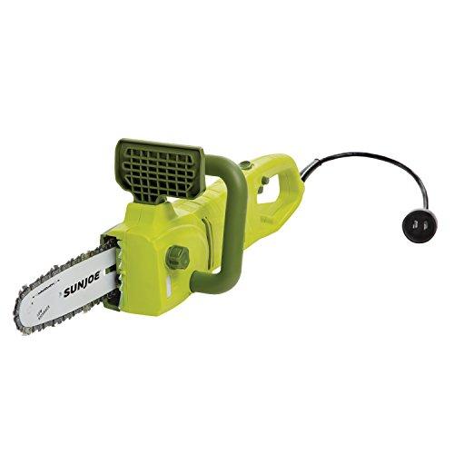 Sun Joe SWJ806E 8-Inch 8.0 Amp 2-in-1 Convertible Pole Chain Saw, Green
