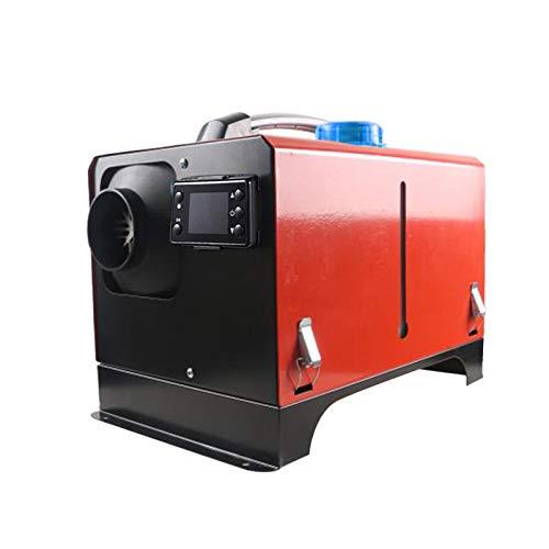 lossomly Luft Dieselheizung 5KW Diesel Standheizung Parkheizung Mit 10L Tank, Fernbedienung Und LCD Display Für LKW, Boot, Autoanhänger, Wohnmobile, Tourenwagen, Wohnwagen, 12V / 24V