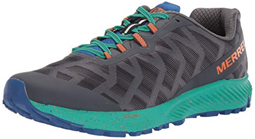 Merrell mens Agility Synthesis Flex Running Shoe, Black, 10 US