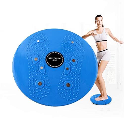 Balanceplatte Verdrehdrehmoments Disc Platte Aerobic Fitness Reflextherapie Magnet Unruhklobens Fitness-Ausrüstung, Größe: 25 * 3cm (blau) Jianmeiliao (Color : Blue)