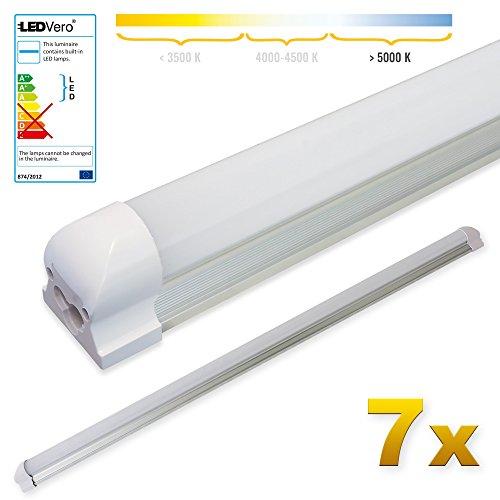 8.9W /— Puissance /Équivalente /à une Lampe de 18 Watt tube LED longueur 60 cm r/ésistant Blanc froid /— 4000K OSRAM Tube Fluorescent LED G13 SubstiTUBE Value T8