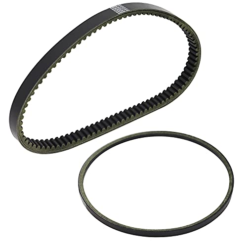HAQQI Starter Generator Drive Belt for Compatible with Golf Cart DS Club Car 1997-UP DS Precedent 2004-UP FE290 and FE350 Motors 1997 to Current 101916701 1016203