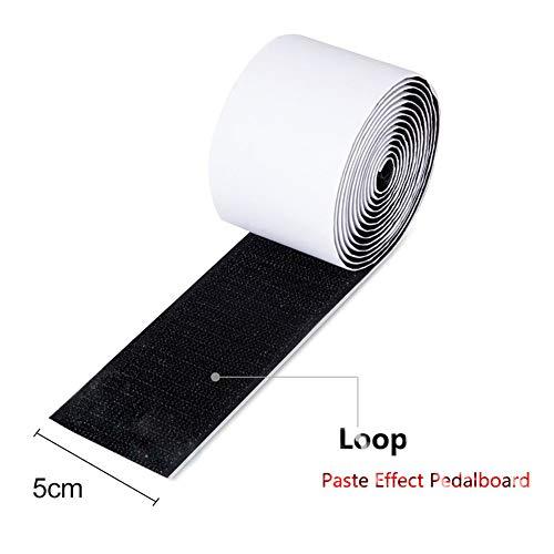 OUYAWEI Montage Tape Gitaar Deel Power-Grip Pedalboard Elektrische Gitaar Effector Effect Pedaal Montage Tape Haak + Loop Loop
