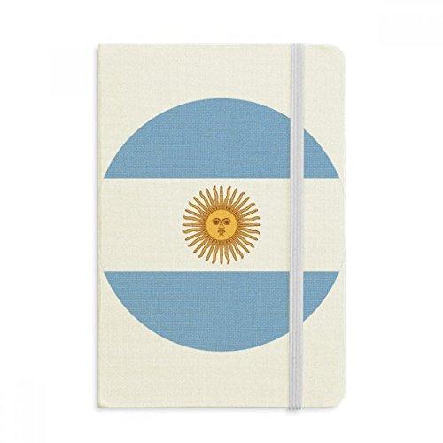 DIYthinker Argentinië Nationale Vlag Zuid-Amerikaanse Symbool Notebook Stof Hard Cover Klassieke Dagboek A5 A5 (144 X 210mm) Multi kleuren