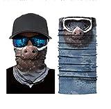 Capucha con protector solar Magic Turban Headwear diadema elástica deportiva transpirable estampado...