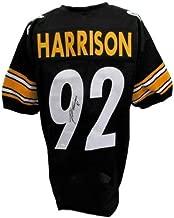 James Harrison Steelers Autographed Signed Black Jersey JSA 129958