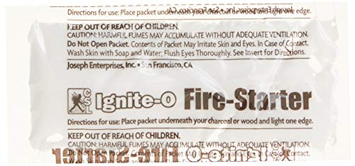 Ignite-O FS855-24 Instant Fire Starter, 12-Packets, Brown/A