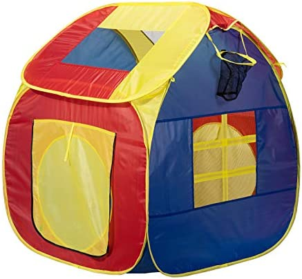 VARWANEO Kids Tent Pop Up Play Tent Indoor and Outdoor Playhouse for Boys and Girls Fold able product image