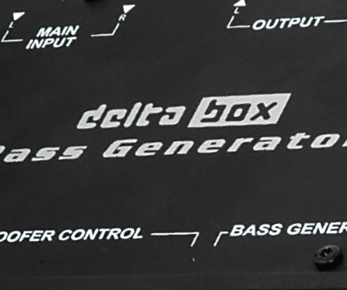Vibe Audio Auto Sound System DELTABOX Delta Box Bass Generator