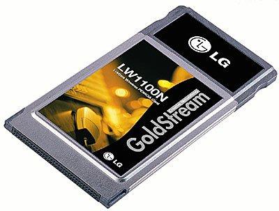 LG LW1100N inalámbrico (Notebook) Tarjeta PCMCIA -...