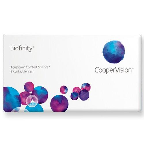 Biofinity Toric, torische Monatslinsen weich, 3 Stück / BC 8.7 mm / DIA 14.5 / CYL -2,25 / Achse 180 / -01,25 Dioptrien