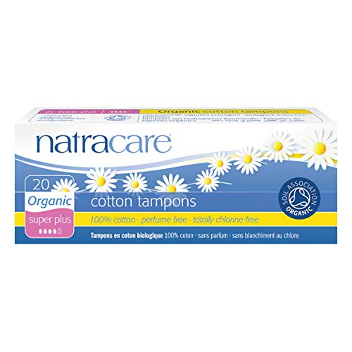 NATRACARE - Tampons Super Plus Sans Applicateur 20 Tampons