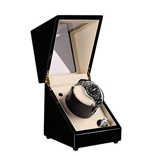 XYSQWZ Orologio Winder Shake Table Dispositivo Avvolgimento Watch Box Shaker Watch Box Motor Elettrico Rotante Tavolo Ondeggiante Scatola di Legno Carica Automatica Watch Box Single -414