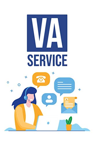VA Service: Planer für Virtuellen Assistent - Wochenplaner Monatsplaner zum Planen und Organisieren - A5 Organizer mit Monatsübersicht Wochenübersicht ... - Perfektes Geschenk für Fernarbeiter und VAs