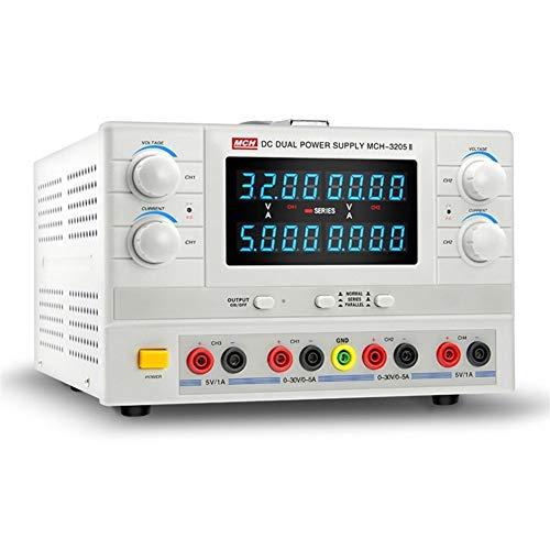 Précis 3205II charge d'essai de vieillissement linéaire d'alimentation de puissance linéaire réglable à double circuit d'alimentation cc Durable (Size : 110V)