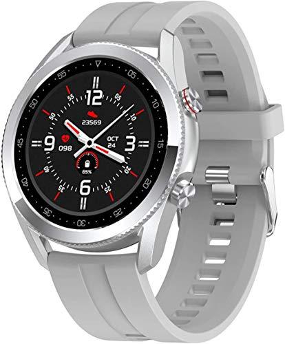 2021 nuevo reloj inteligente hombres Bluetooth llamada música reproducción IP68 impermeable reloj deportivo Fitness Tracker hombres mujeres reloj inteligente
