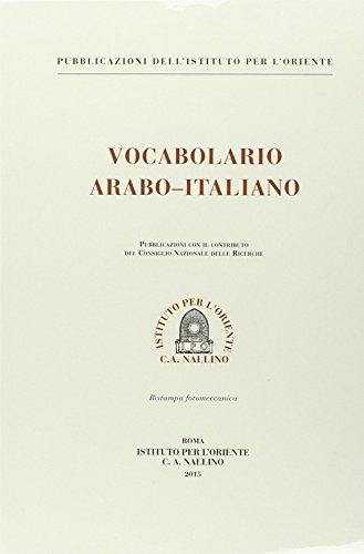Vocabolario arabo-italiano