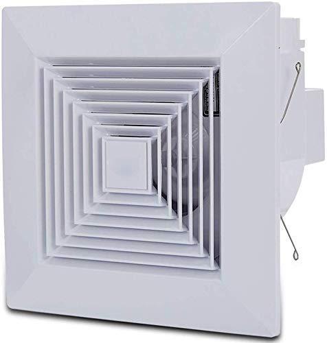 Aspiradores de ventilación extractor Bathroom Ceiling Fan de escape de cocina Calmo/canalizados de ventilación Panel de ruido: 45 dB, Air Volumen: 120 m3/H fan conducto de escape Baibao