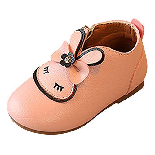 Vovotrade schoenen, bowknot boots, pasgeborenen baby meisjes kribbe zachte zool anti-slip schoenen konijn cartoon rits bowknot laarzen prinses schoenen herfst/winter