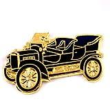 限定 レア ピンバッジ アンティーク車オールドカー黒 ピンズ フランス
