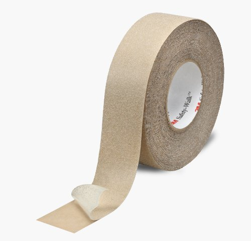 3M Safety-Walk Slip-Resistant General Purpose Tapes & Treads 620, Clear, 4 in x 60 ft, Roll, 1/Case