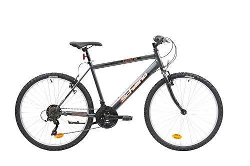F.lli Schiano Ghost, Bici MTB Men's, Antracite-Arancio, 26''