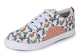 TRASE Daisy Canvas & Sneaker/Casual Shoes for Women/Ladies