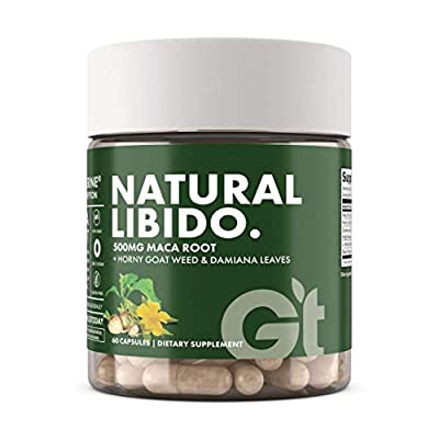 Genesis Today Natural Libido Supplement for Men & Women, Herbal Supplement for Sexual Well-Being, 60 Vegetarian Capsules from Genesis Today