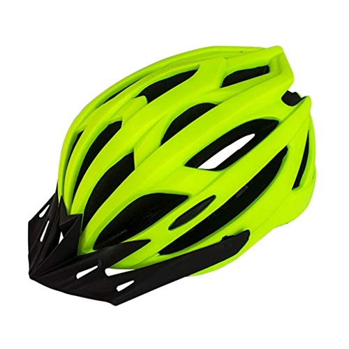 cdhgsh Unisex Hombres Mujeres Ultraligero MTB Casco de Bicicleta con luz Trasera...