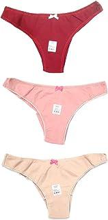 Pantie For Women (3 Pcs) (Beautiful European Design Ladies Lingerie) [Comfortable Underwear]
