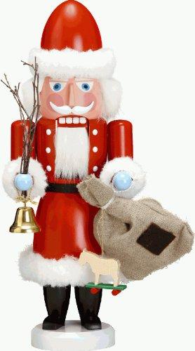 """Seiffener Volkskunst Nussknacker """"Weihnachtsmann"""" rot ca. 38 cm, Erzgebirgskunst, Weihnachtsdeko"""