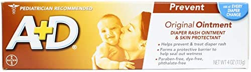 A D Diaper Rash Ointment Skin Protectant Original 4 oz Pack of 3 product image