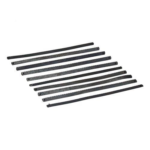 Silverline Tools SW37 - Cuchillas pequeñas para arco de sierra, 10 pzas (150 mm) Multicolor