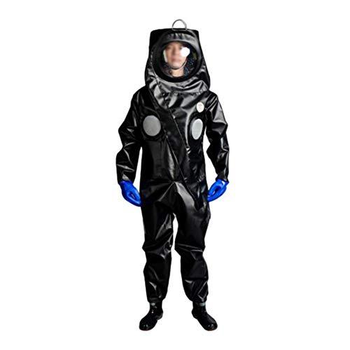 Professioneel bijenpak met handschoenen, bijenteelt beschermende pakken jas en broek, PU leer bijenteeltpak bijenhouder uitrusting overall outfit ingebouwde ventilator,XL