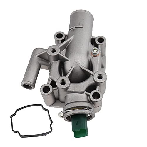 Impetuous 1336 .Z0,1336Z0 Termostato de refrigerante del Motor con Ajuste de la Carcasa para Peugeot Partner 206/207/307/308/1007 Fit para Citroen C2 C3 C4 Aluminio