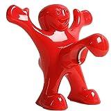 Apribottiglie Cavatappi Divertente Felice Red Man Novità Wine Bottle Opener