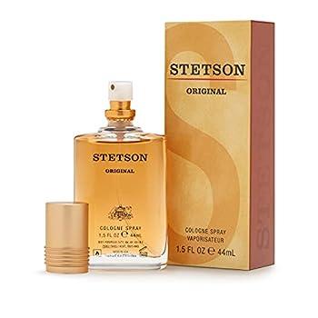 STETSON Original Cologne for Men   Legendary Men s Eau de Cologne Spray   A Bold & Classic Mens Fragrance l 1.5 Fl Oz