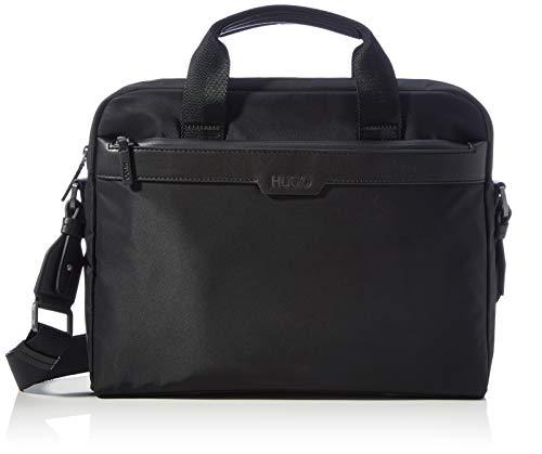 HUGO Herren Luxown_S doc case Business Tasche, Black1, Normal