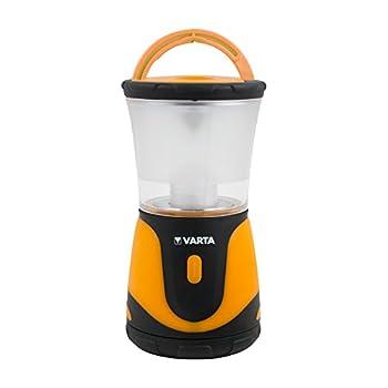 Varta - Lanterne - Outdoor Sports - Dimmable/Réglable - Orange - 90 Lumens