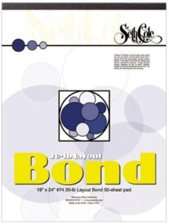 Seth Cole SC74A 11 in. x 14 in. Layout-Bond Paper Pad