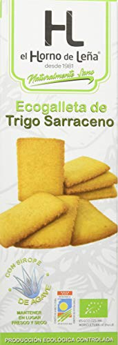 Horno de Leña Ecogalletas De Trigo Sarraceno (Caja) 190 g