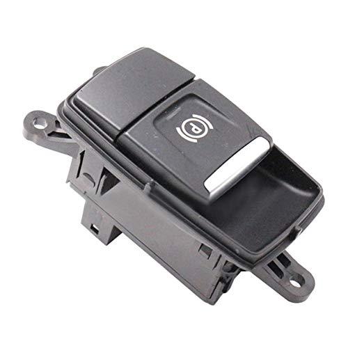 Reunion Aparcamiento del Automóvil Interruptor De Control De Freno Aparcamiento Eléctrico Botón De Interruptor De Freno De Mano Ajuste para BMW- X1 F48 F49 X2 F39 613168225223 (Color : Black)