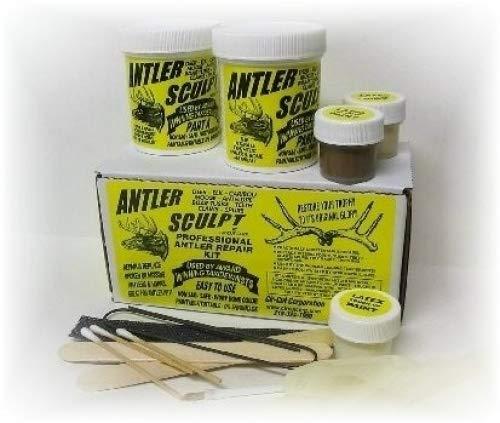 ANTLER & HORN REPAIR KIT - DEER ELK & MORE - Restoration Of Broken Or Missing Antlers