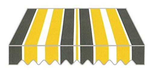 Tenda da sole a caduta per balcone tessuto in poliestere