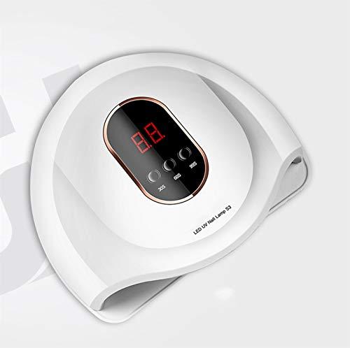 ZOUSHUAIDEDIAN Nail UV Lámpara 54W, secador del Clavo LED con Timer/Sensor/Pantalla LCD portátil USB de diseño de uñas de manicura de luz LED de curado UV Gel Uña de la luz for uñas de los pies y